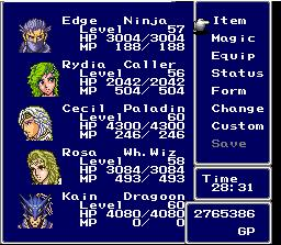 Square Enix to Create FFIV in 3D on the DS Square Enix to Create FFIV in 3D on the DS 2379SquallSnake7