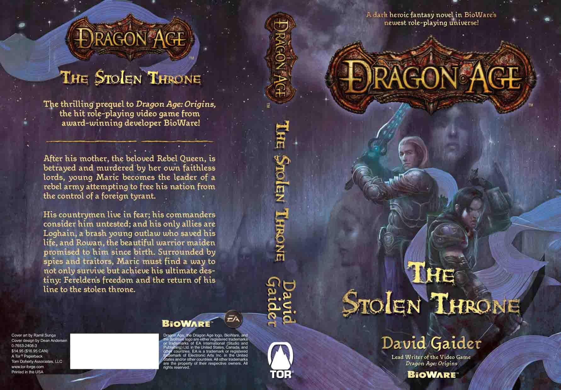 Tor Books To Publish Latest Bioware Novel Tor Books To Publish Latest Bioware Novel 3175SquallSnake7