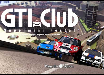 GTI Club Supermini Races Online with Wii GTI Club Supermini Races Online with Wii 3647SquallSnake7