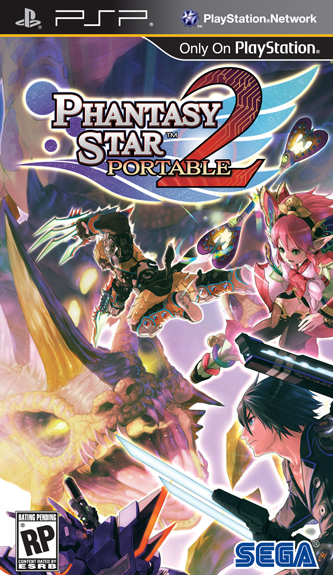 Phantasy Star Portable 2 PSP Headed Stateside Phantasy Star Portable 2 PSP Headed Stateside 3730SquallSnake7