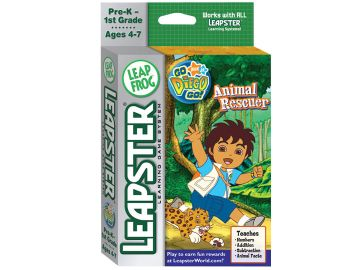 Leapster - Go Diego Go Animal Rescuer Review Leapster – Go Diego Go Animal Rescuer Review 404SquallSnake7