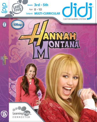 Leapster - DIDJ Hannah Montana Review Leapster – DIDJ Hannah Montana Review 436SquallSnake7