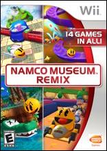 Namco Museum Remix Namco Museum Remix 554130SquallSnake7