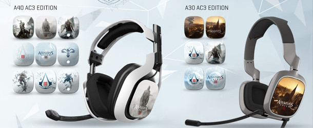 Assassin Creed III Speaker Tags Announced for ASTRO Headsets Assassin Creed III Speaker Tags Announced for ASTRO Headsets AssCreedHeadSet