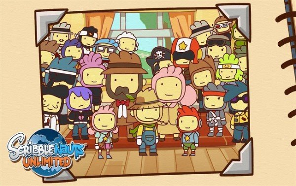 Scribblenauts is Unlimited Scribblenauts is Unlimited Scribblenauts Unlimited