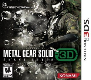 Metal Gear 3DS box