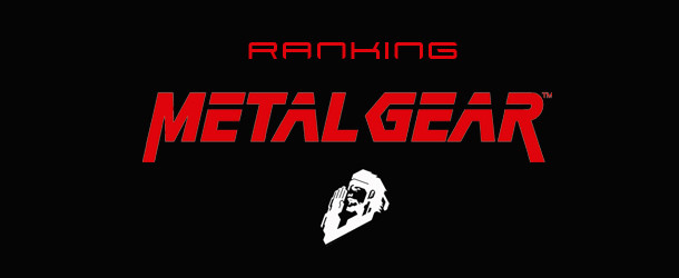 Ranking Metal Gear Ranking Metal Gear Ranking Metal Gear Banner