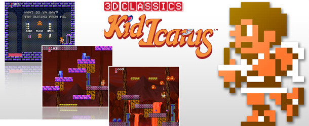 3D Classics: Kid Icarus 3D Classics: Kid Icarus (3DS) REVIEW Kid Icarus Banner