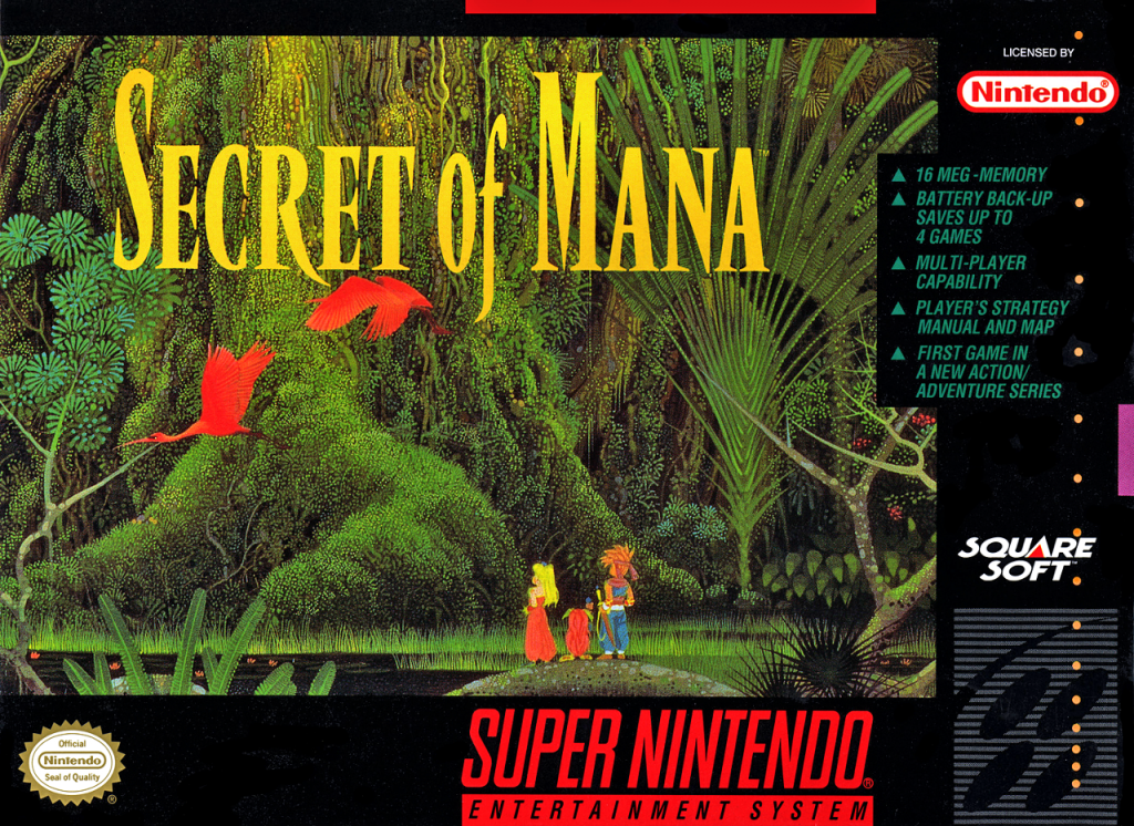 Secret of Mana box
