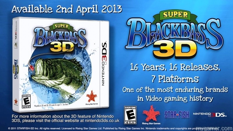 Super Black Bass 3DS Super Black Bass 3DS available Super Black Bass 3D Now Available for 3DS Super Black Bass 3DS