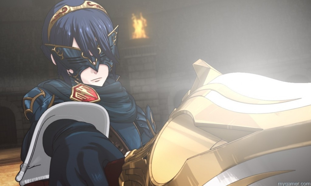Just who is this strange character? Fire Emblem: Awakening (3DS) Review Fire Emblem: Awakening (3DS) Review FireEmblemAwakening12 1024x614