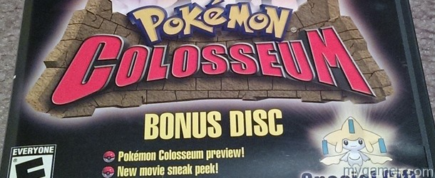 Forgotten Relics: Pokemon Colosseum Bonus Disc (GC) FORGOTTEN RELICS – Pokemon Colosseum Bonus Disc (GC) Pokemon Col Bonus Disc Banner
