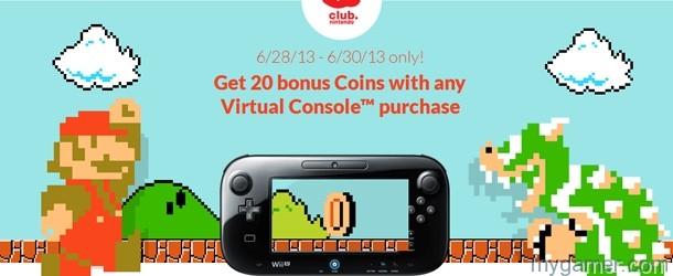 Club Nintendo Offers 20 Bonus Coins June 28-30, 2013 Club Nintendo Offers 20 Bonus Coins June 28-30, 2013 Club Nintendo Bonus 20 Banner