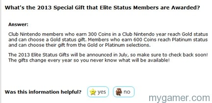 Club NIntendo 2013 CheckBack