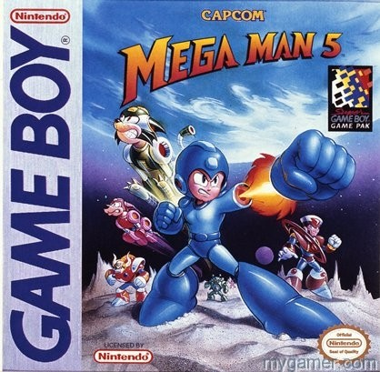 Mega Man will give you the fist GB Mega Man Games Coming to 3DS eShop GB Mega Man Games Coming to 3DS eShop Mega Man V GB Box
