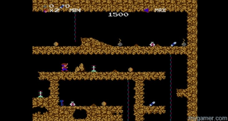 This game will make you say bad words or phrases Spelunker - 3DS Virtual Console Review Spelunker – 3DS Virtual Console Review Spelunker screen1