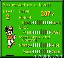 Increasing Drive distance is a safe bet Mario Golf (GBC, 3DS Virtual Console) Review Mario Golf (GBC, 3DS Virtual Console) Review Mario Golf GBC Stats