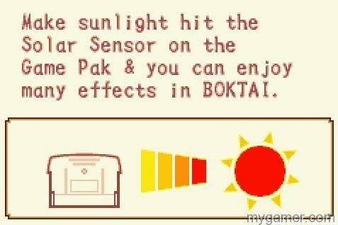 How to use the solar sensor