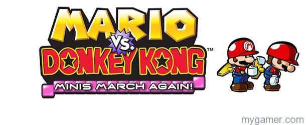 Mario vs Donkey Kong: Minis March Again! (DSiWare) Review Mario vs Donkey Kong: Minis March Again! (DSiWare) Review Mario Vs DK MMA Banner