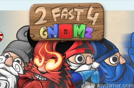 2 Fast 4 Gnomz 3DS eShop Review 2 Fast 4 Gnomz 3DS eShop Review 2 Fast 4 Gnomz banner