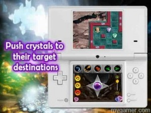 1001 Crystal Mazes DSiWare Banner Rules