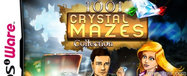 1001 Crystal Mazes Collection DSiWare Review 1001 Crystal Mazes Collection DSiWare Review 1001 Crystal Mazes DSiWare Banner
