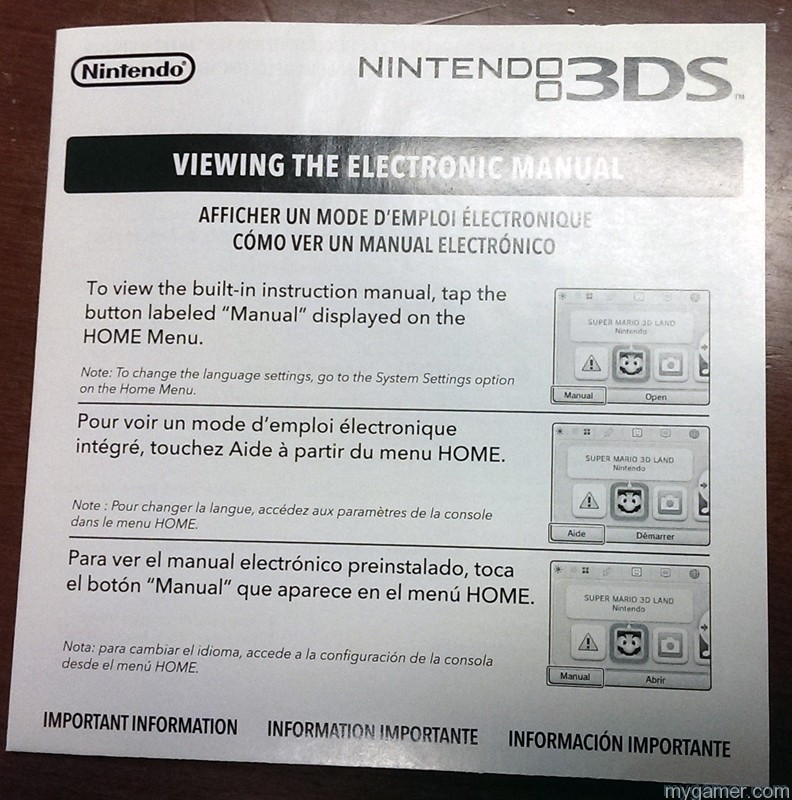 Zelda: LBW Comes With Instructions on How to View Instructions Zelda: LBW Comes With Instructions on How to View Instructions 3DS Instructions