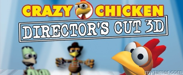 Crazy Chicken: Director's Cut 3D 3DS eShop Review Crazy Chicken: Director's Cut 3D 3DS eShop Review Crazy Chicken Dir Cut 3D Banner