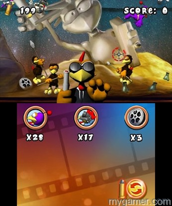 Men in Black reference Crazy Chicken: Director's Cut 3D 3DS eShop Review Crazy Chicken: Director's Cut 3D 3DS eShop Review Crazy Chiken Dir MiB