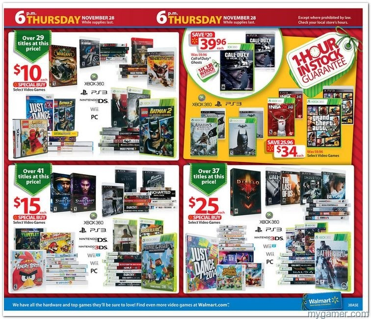 Walmart Black Friday 2013 Ad Leak with gaming highlights Walmart Black Friday 2013 Ad Leak with gaming highlights Walmart Black Fr1 2013