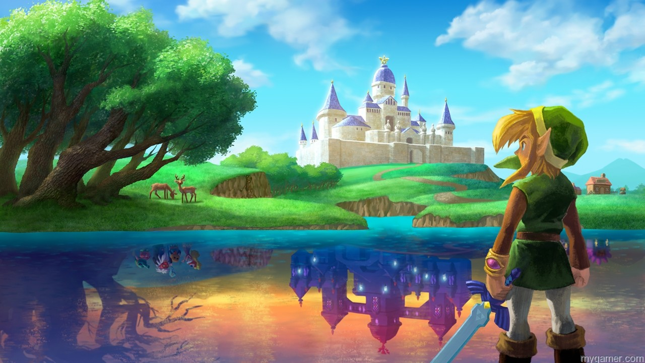 The Legend of Zelda: A Link Between Worlds 3DS Review The Legend of Zelda: A Link Between Worlds 3DS Review A Link Between Worlds art