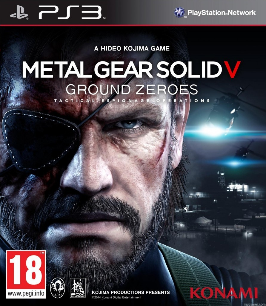 MGS-V Box Art PS3 Metal Gear V: Ground Zeroes Gets Discounted for Current Gen Systems. New Details on Exclusive Side Ops. Metal Gear V: Ground Zeroes Gets Discounted for Current Gen Systems. New Details on Exclusive Side Ops. MGS V Box Art PS3 891x1024
