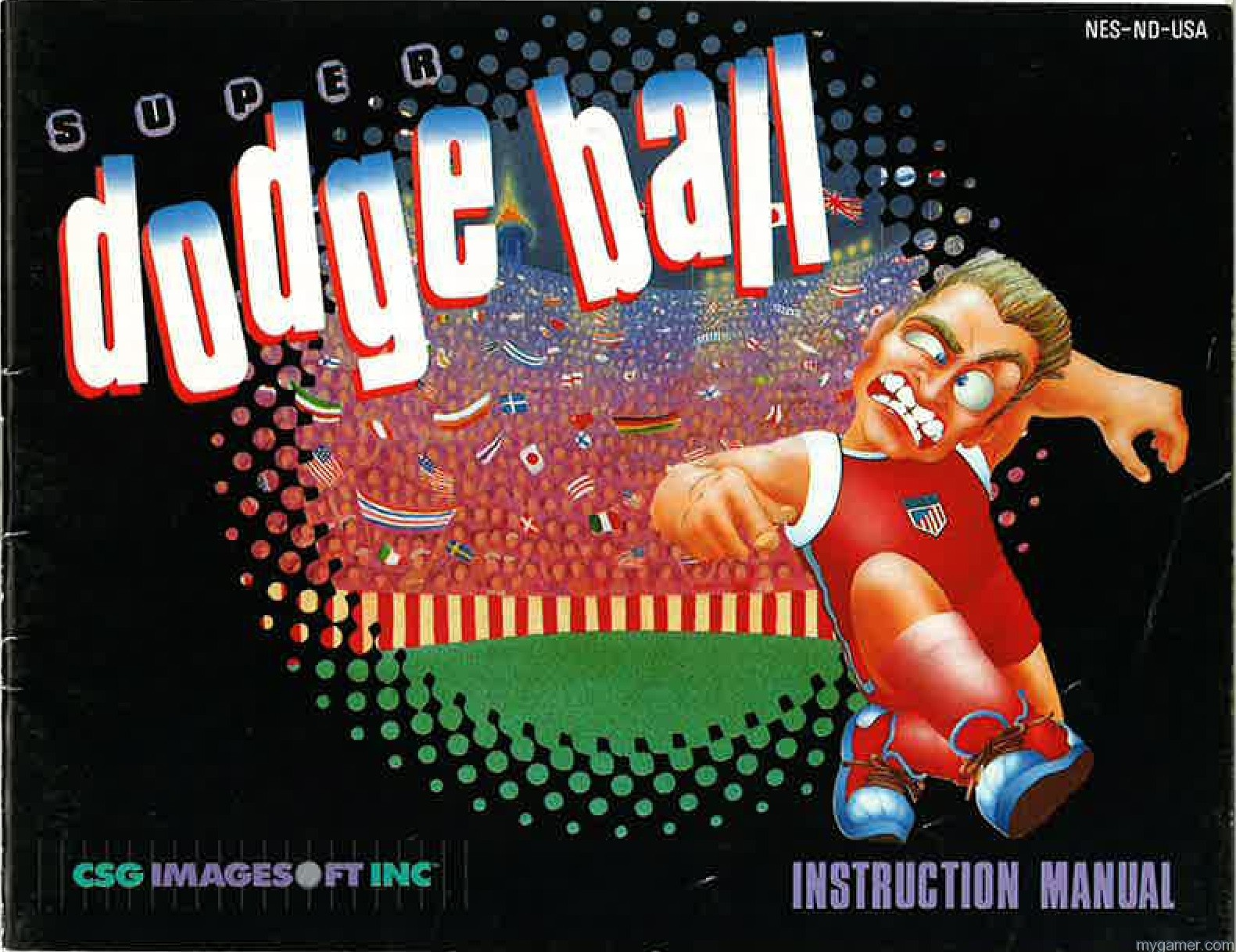 Super Dodge Ball (NES) Backstory and Character Full Names Super Dodge Ball (NES) Backstory and Character Full Names Super Dodge Ball Instruction Scan1