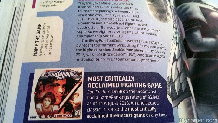 Most spreads have a question like this. guinness world record 2014: gamer's edition review Guinness World Record 2014: Gamer's Edition Review Guinness Gamer 2013 NameTheGame
