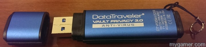 A sexy beast Kingston DataTravler Vault Privacy 3.0 Anti-Virus USB 3.0 Flash Drive Review Kingston DataTravler Vault Privacy 3.0 Anti-Virus USB 3.0 Flash Drive Review Kingston DataT 3 Side2