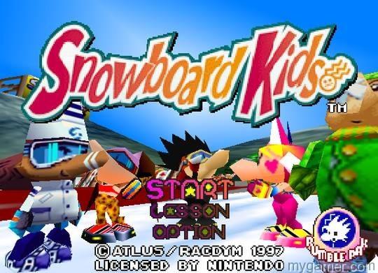 Snowboard Kids!