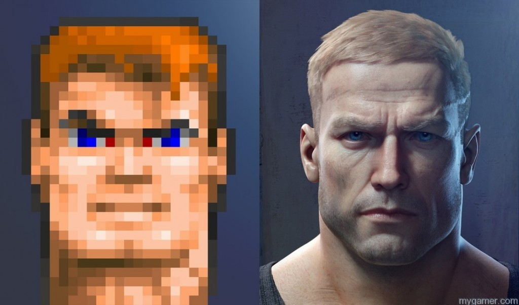 Games have come a long way Wolfenstein: The New Order Gets May Release Date with Early Access to Doom Wolfenstein: The New Order Gets May Release Date with Early Access to Doom blazkowicz wolfenstein 3D TNO 1024x602