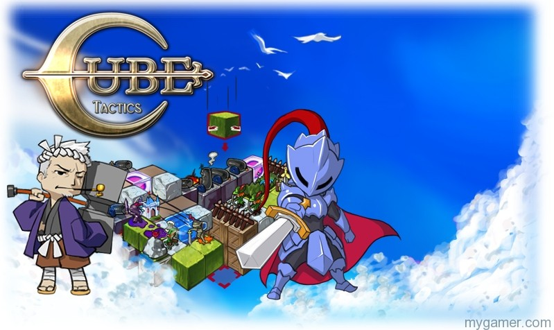 Cube Tactics 3DS eShop Review Cube Tactics 3DS eShop Review CubeTactics background