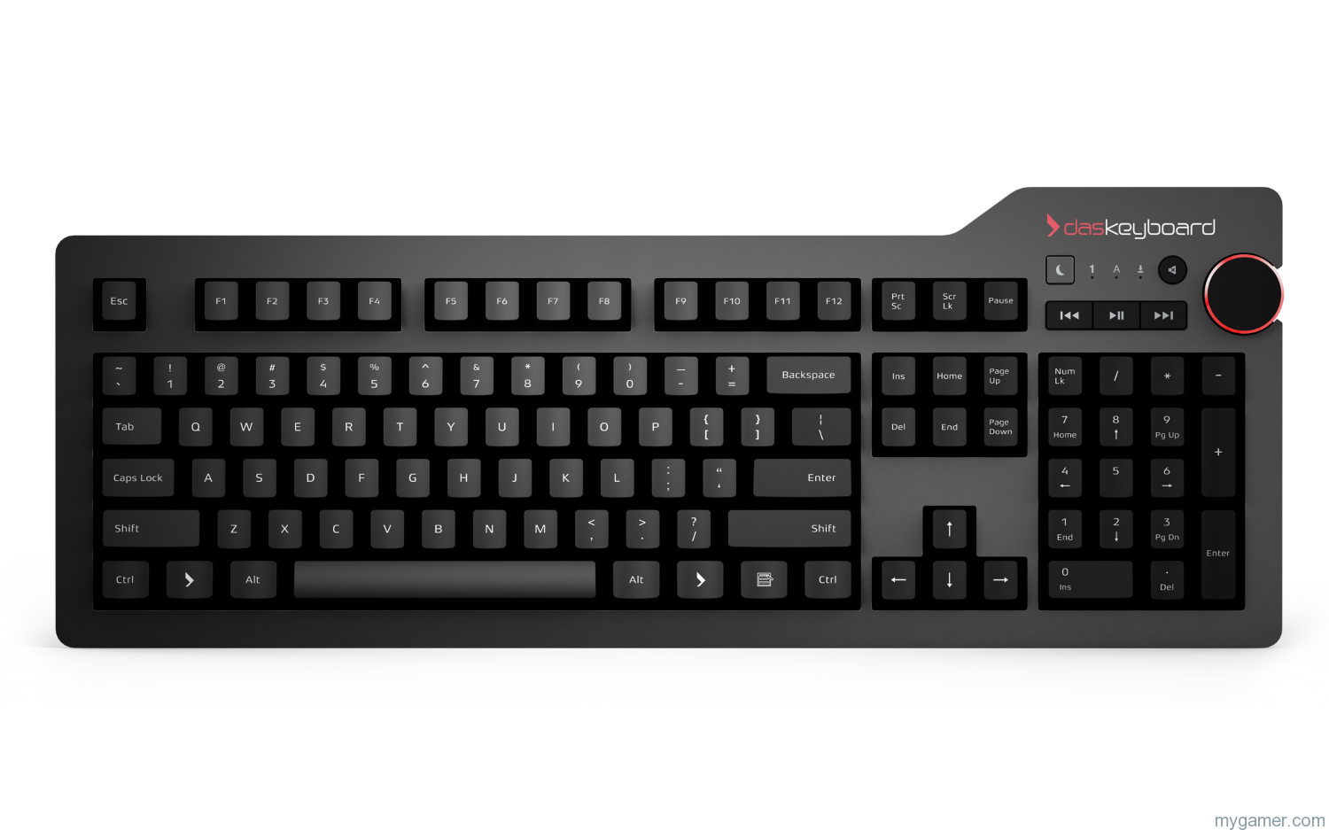 Das Keyboard 4 Professional Review Das Keyboard 4 Professional Review daskeyboard 4 professional front view