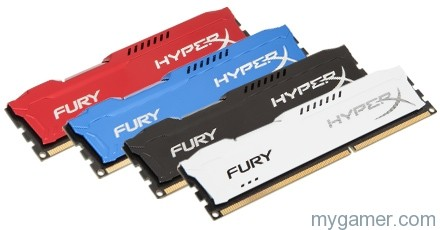 Purdy colors Kingston HyperX FURY RAM Review Kingston HyperX FURY RAM Review hx fury detail