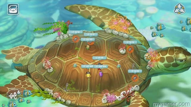 In one stage, players travel on the back of a Majora's Mask turtle squids odyssey wiiu eshop review Squids Odyssey WiiU eShop Review squids odyssey 4