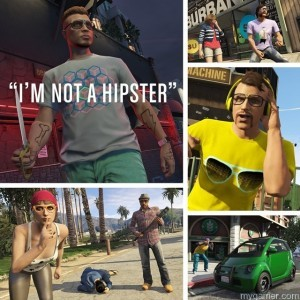 """I'm Not a Hipster The GTA Online """"I'm Not a Hipster"""" Update Is Now Available The GTA Online """"I'm Not a Hipster"""" Update Is Now Available Im Not a Hipster 300x300"""
