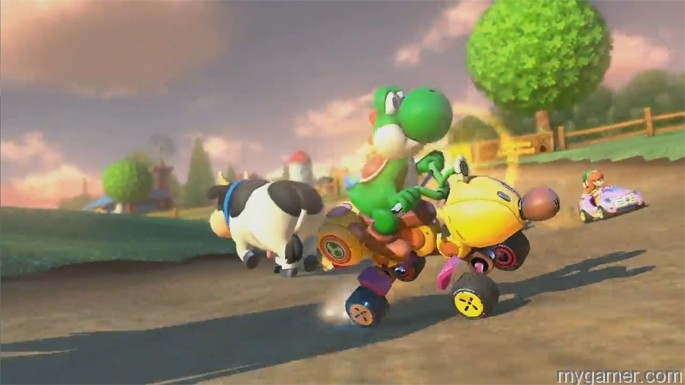 Watch out for cows too. Mario Kart 8 Tips, Tricks, Hints and Secrets Mario Kart 8 Tips, Tricks, Hints and Secrets Mario Kart 8 cows
