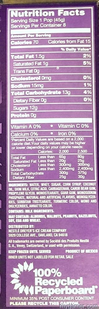 Nutrition facts Gamer's Gullet: Wonka Peel-A-Pop Popsicles Review Gamer's Gullet: Wonka Peel-A-Pop Popsicles Review Peel A Pop BoxSide