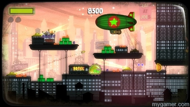 Level design is creative Tales from Space: Mutant Blobs Attack XBLA Review Tales from Space: Mutant Blobs Attack XBLA Review Tales from Space Mutant Blobs Attack