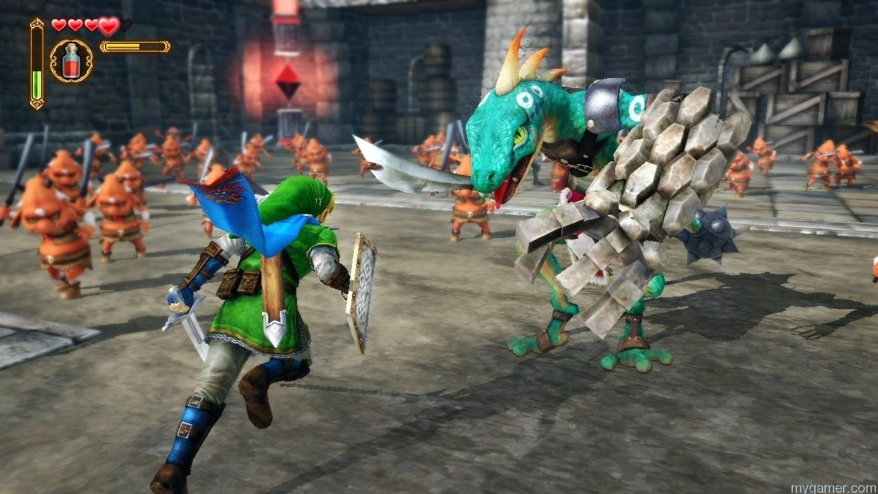 Hyrule Warriors - Link in Battle Hyrule Warriors Preview Hyrule Warriors Preview hyrule warriors