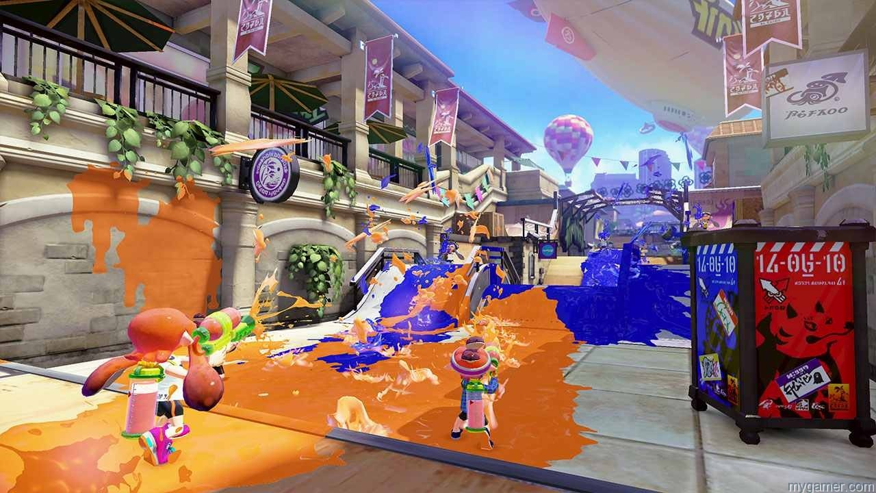 Ink up your territory in Splatoon Splatoon Preview Splatoon Preview screenshot1