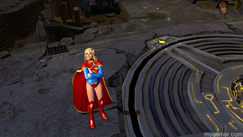 Infinite Crisis Supergirl Infinite Crisis: Supergirl Trailer Infinite Crisis: Supergirl Trailer supergirlcine