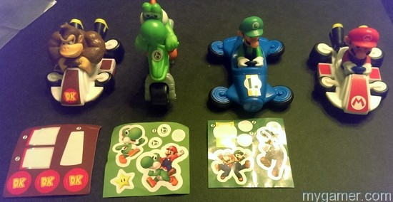 I am missing half the lot Mario Kart 8 Happy Meal Toys Mario Kart 8 Happy Meal Toys Mario Kart 8 Happy Meal 4 All