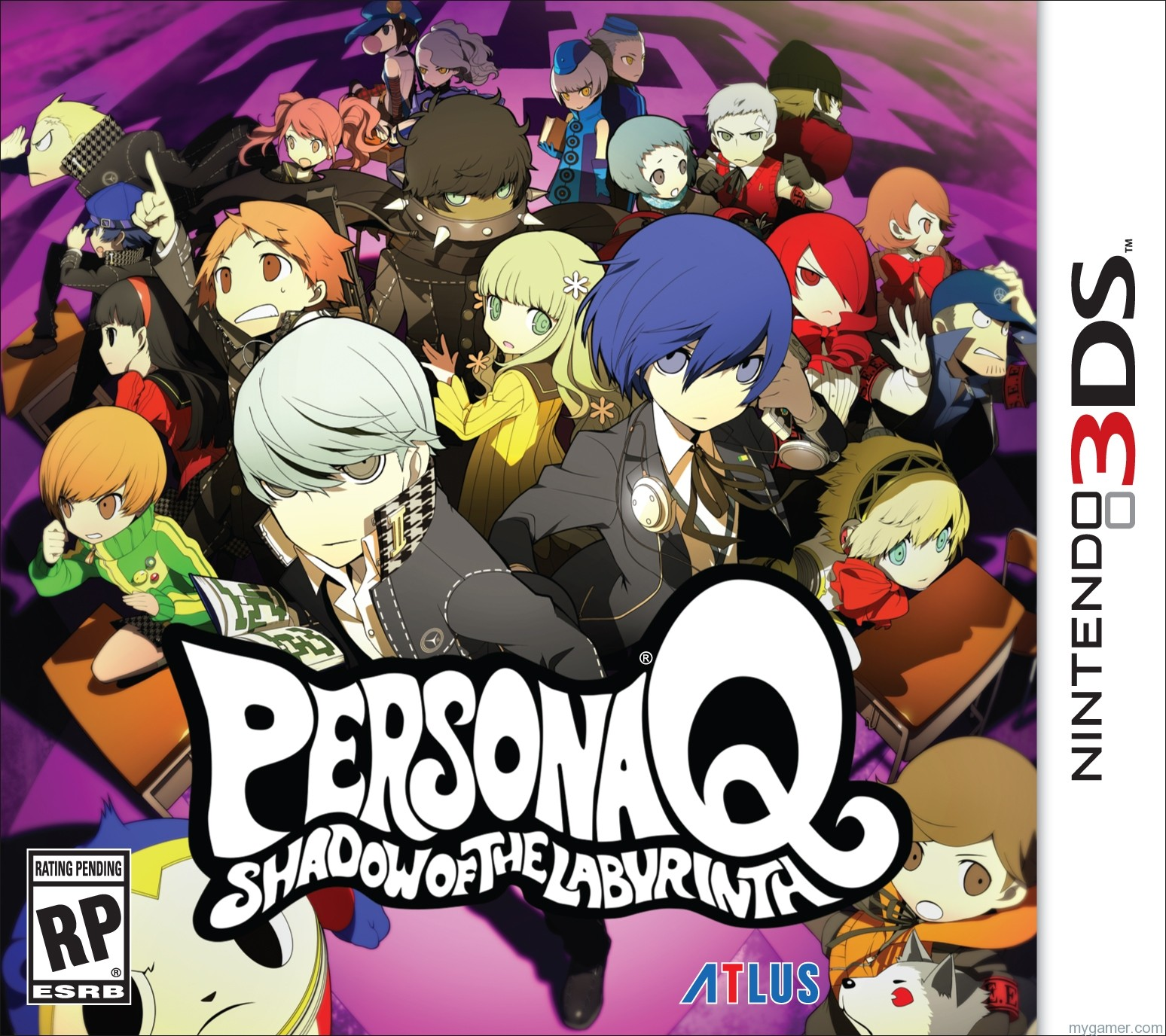 Persona Q Opening Movie Leaked Persona Q Opening Movie Leaked Personal Q Boxart